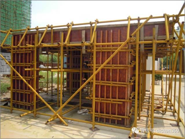 某建筑工地标准化施工现场观摩图片(铝模板的使用),值得学习借鉴_48