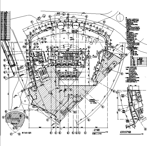 [上海]国际知名设计院办公楼最终审核图纸(16年最新)_3