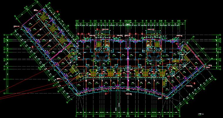 建筑与结构住宅幼儿园施工图纸_1