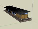 建筑设计大师格伦·默克特SU模型
