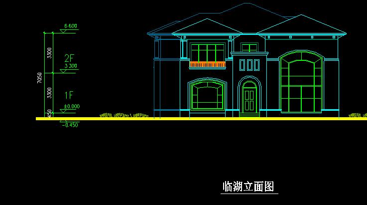 两套私人别墅设计方案图带效果图
