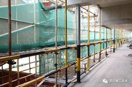 后浇带粗直径钢管支撑体系应用技术