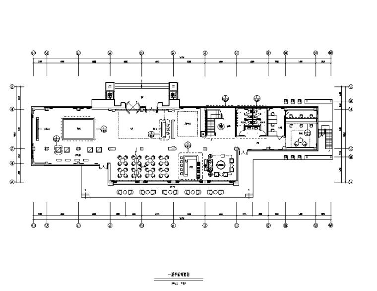 [山东]青岛售楼处设计施工图(附效果图)
