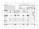[郑州]新中式古典风格中餐厅装修全套施工图(附效果图)