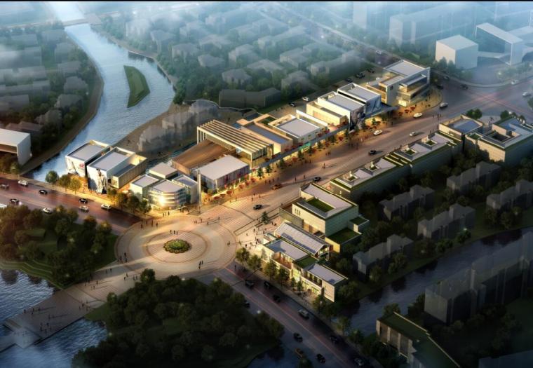 [浙江]万科云鹭湾商业街方案设计文本(PDF+85页)