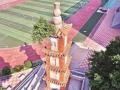 388年古塔上长了一棵树,可能影响塔结构
