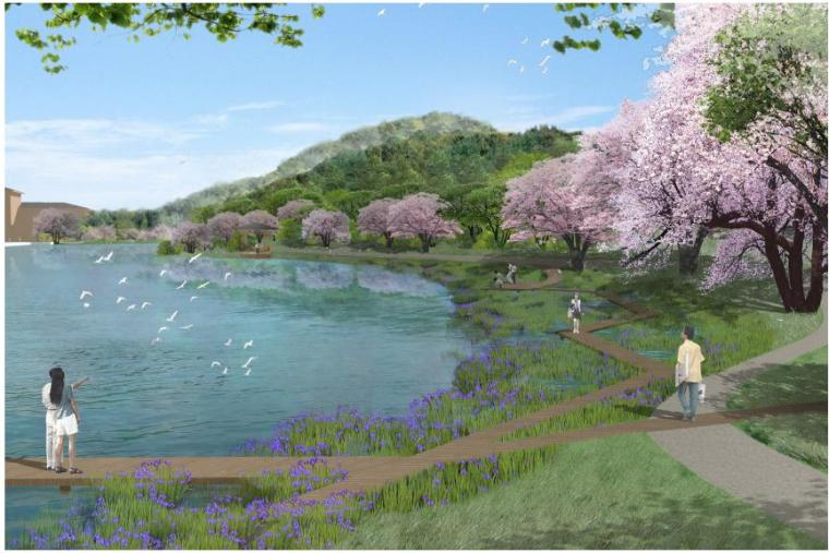 [河南]傳統園林風格高檔社區景觀規劃設計方案