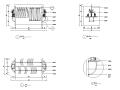 11套服装店货架CAD图块