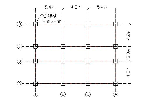 框架结构住宅楼基础设计计算书(word,30页)
