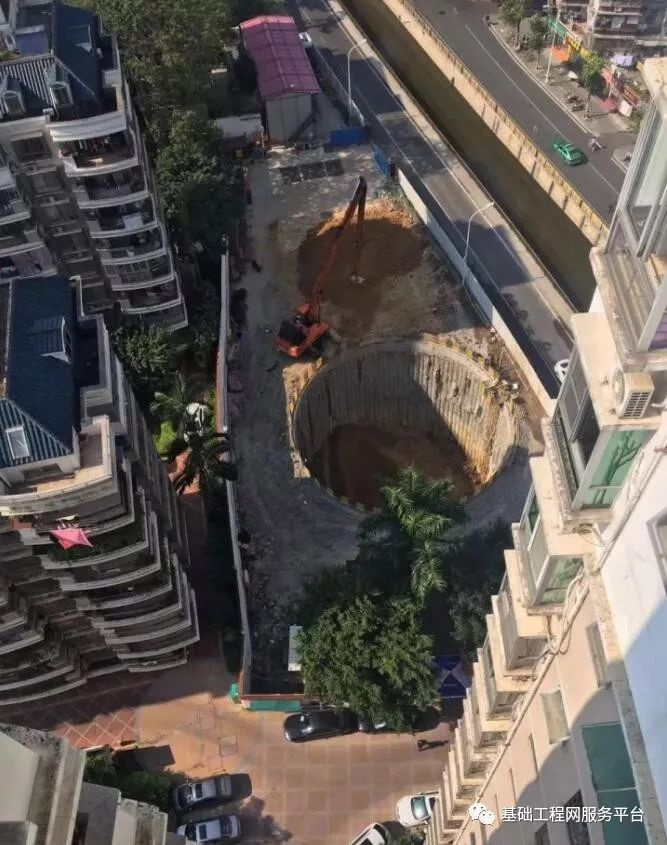 国内首个典型筒状结构岩土基坑支护工程实例点评