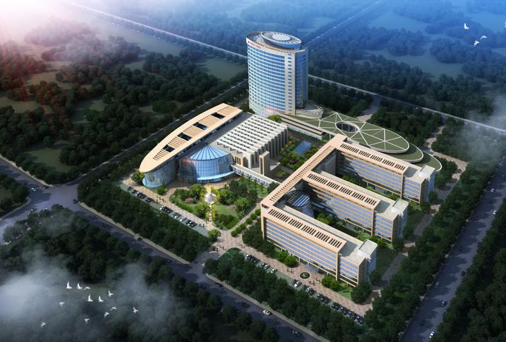 [山东]定陶县人民医院新院区建筑设计方案文本