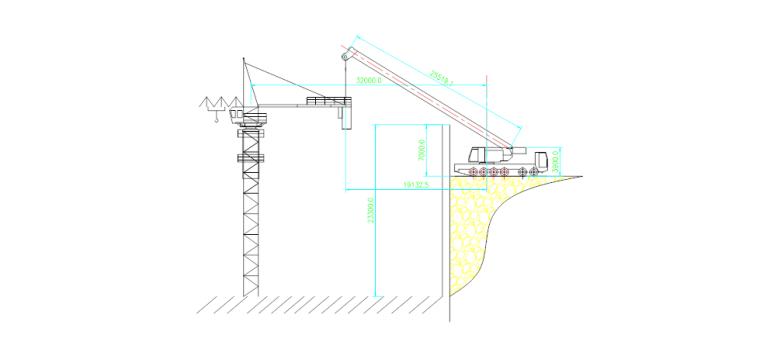 [杭州]农转居公寓工程塔吊安装(拆卸)施工技术方案