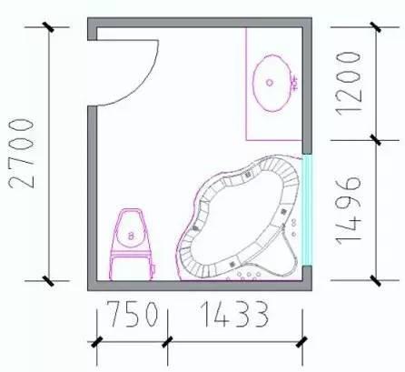 最全户型房间尺寸分析,设计师必备!_5