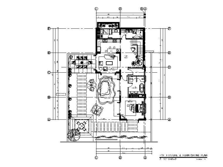 [海口]南加州风格低层度假住宅设计施工图(含效果图+软装概念)_1