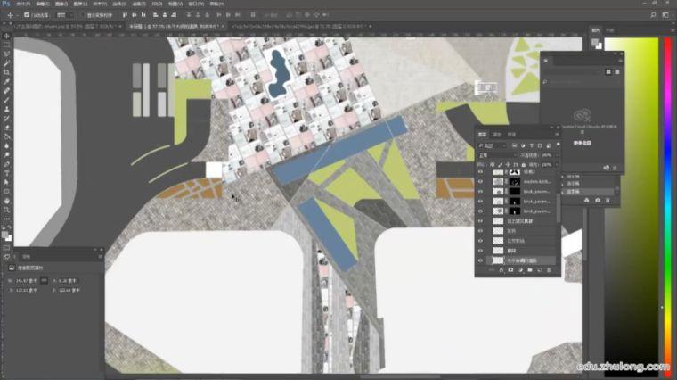 如何一张好看的小清新景观平面图?(步骤详解)_7