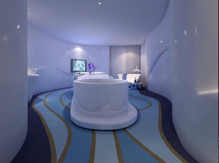 [福建]沐兰汽车旅馆室内设计概念方案(29页)
