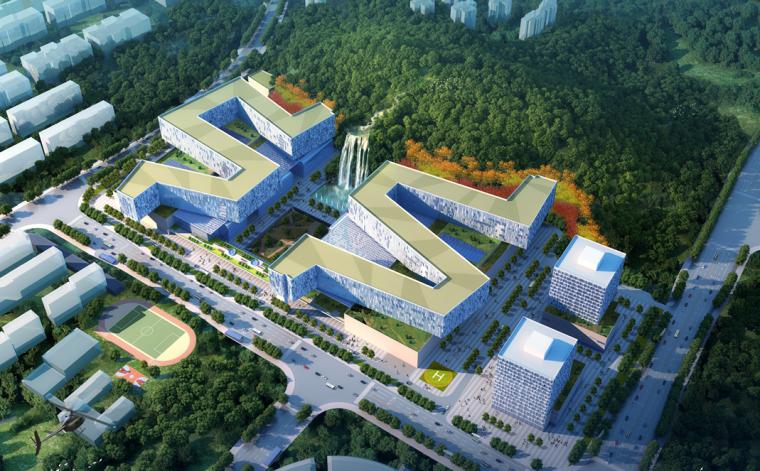 [湖南]中南大学某医院方案汇报设计(全套CAD+PDF)