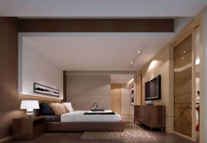 某中式建欧别墅室内装修设计施工图及效果图_10