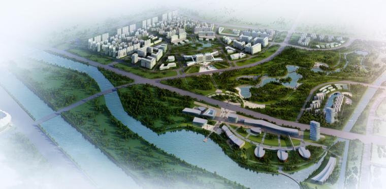 [淮安]旅游商务中心及生态公园规划(SU+文本)