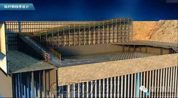 北京第一高楼——中国尊基坑施工动画_12