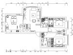 [河北]欧式风格180平米住宅设计施工图(附效果图)