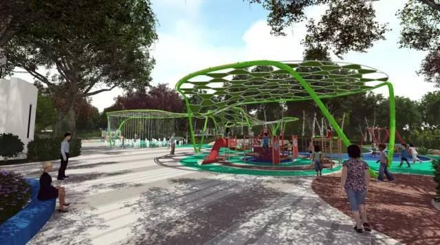 你需要知道的幼儿园景观设计法宝,责任大于天!_36