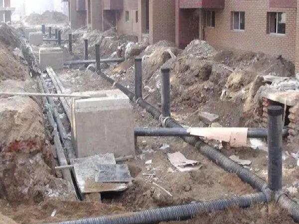 室外综合管网施工中要把控的四个要点