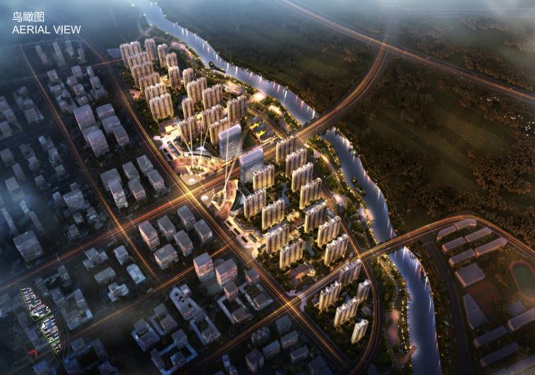 [河南]郑州公园里高层居住区建筑规划设计方案文本(滨河休闲,私属庭院)