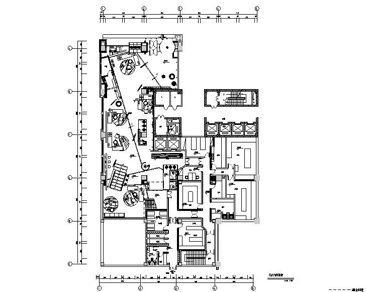 [河北]石家庄中宏KTV设计施工图(附效果图+材料)