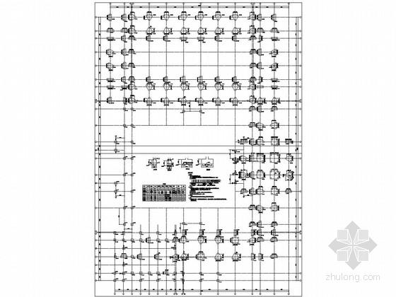 [浙江]五层框架结构坡屋面小学结构施工图(含计算书)