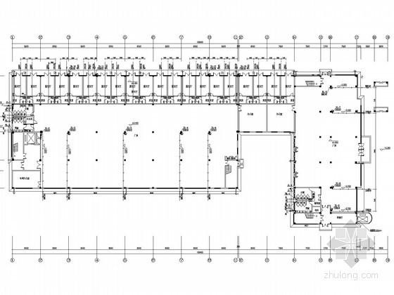 [安徽]工业园区厂房建筑群给排水消防施工图
