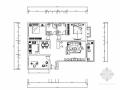 现代简约两居室装修图(含效果图)