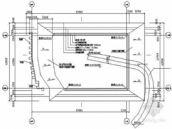 [重庆]某深基坑土方开挖及支护施工设计图(抗滑桩)