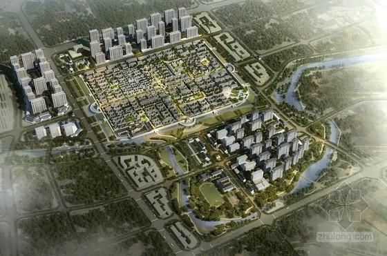 [山东]古城片区安置区规划及单体建筑设计方案文本