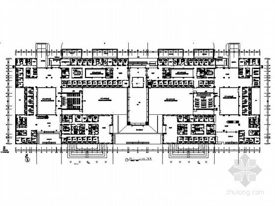 [宁波]交易服务平台中心高档行政中心综合楼装修施工图(含效果)