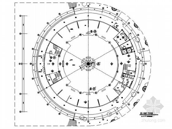 [广东]完整详细现代文化展览中心室内装修施工图(含方案效果实景 推荐!)