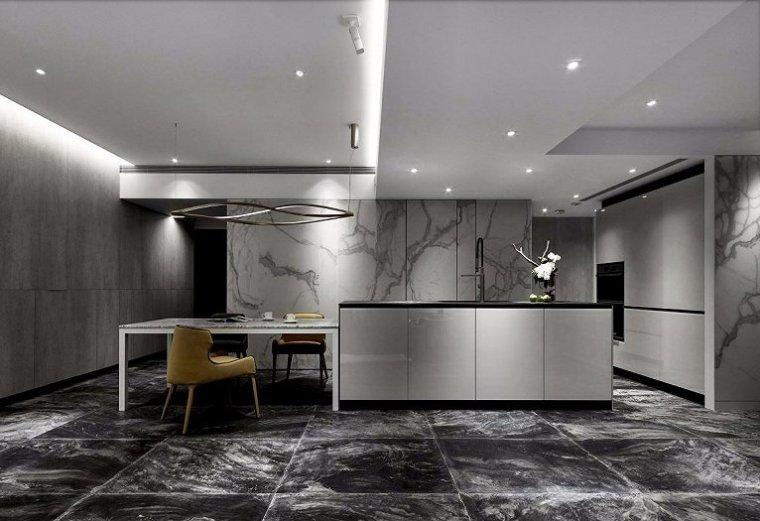 92㎡现代风格公寓