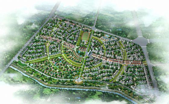 成都居住区景观规划方案(一)