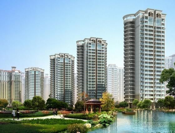 [四川]高级住宅小区安防工程投标文件编制实例(技术标 图纸)
