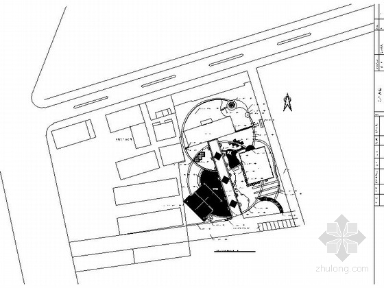 [浙江]老年活动中心景观规划设计施工图