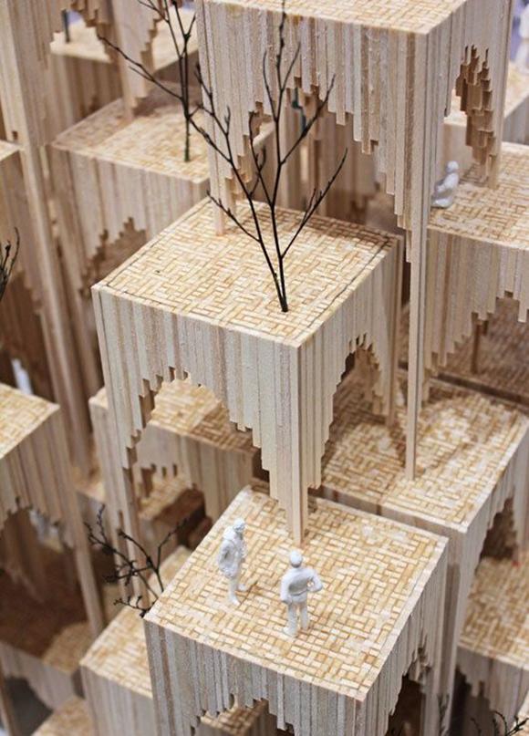 看看国外学生/建筑师的概念模型_12