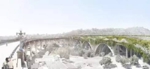 voc废气治理设计方案资料下载-美国洛杉矶生态高速公路设计方案,刷新你的认识