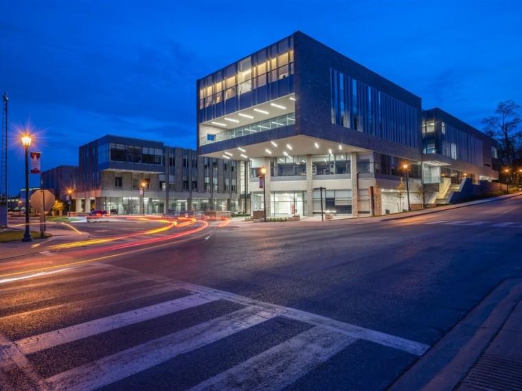 加拿大大学建筑设计鼓励跨学科交流