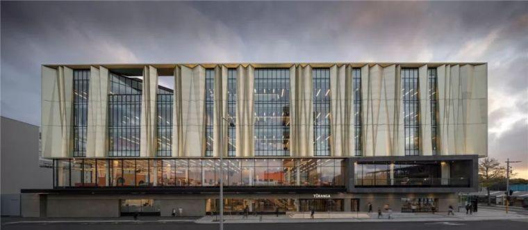 新作|一座会发光的复兴灯塔:新西兰基督城中央图书馆 / SHL
