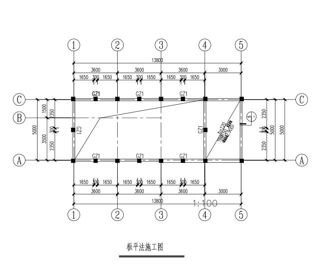 单位门卫室、值班室结构图(CAD、6张)
