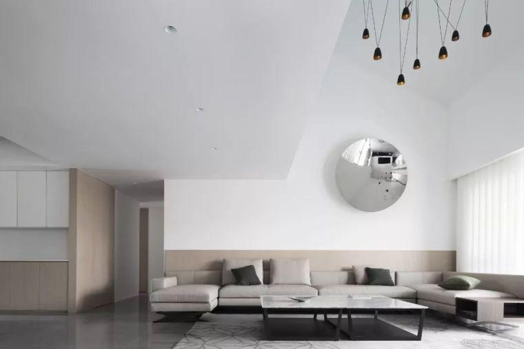 顶层极简白LOFT设计,尽显空灵意境的高级感!