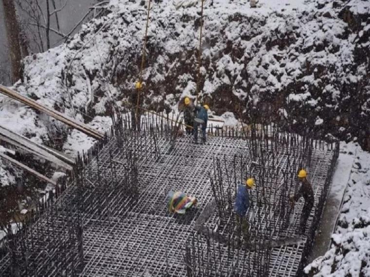 冬季浇筑混凝土施工工艺