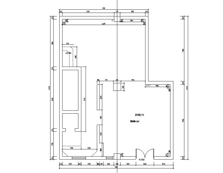 原始建筑图