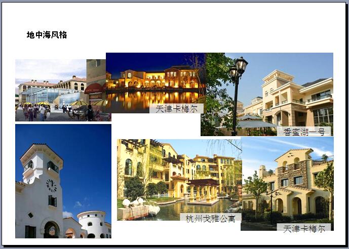 房地产建筑风格解析大全(209页,各种风格)-地知名地产风格