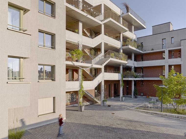 瑞士Kraftwerk2住宅楼